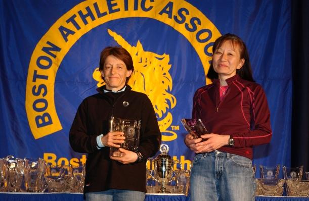 Lynn Kobayashi, Lynn Deutscher Kobayashi, Boston Marathon