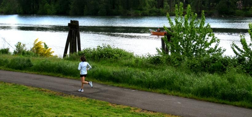 Willamette River Walk, Portland Oregon