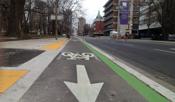 Best bike lane in town!