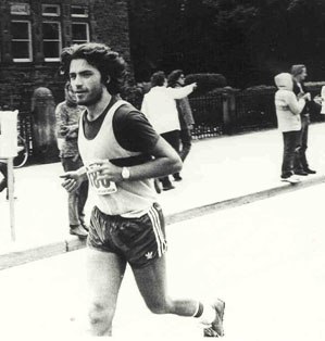 1980 Toronto Marathon, Doug's first