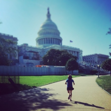 Running in Washington D.C.
