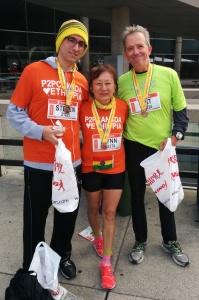 Steven Deutscher-Kobayashi, Lynn Kobayashi, Pat Deutscher